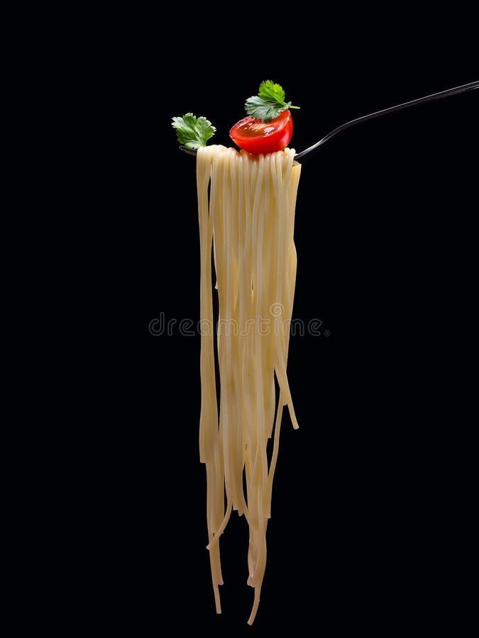 Köstliche Teigwaren vertikal stockfoto