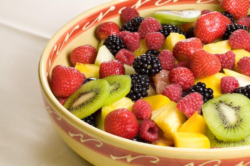 Köstlicher Fruchtsalat lizenzfreie stockfotos
