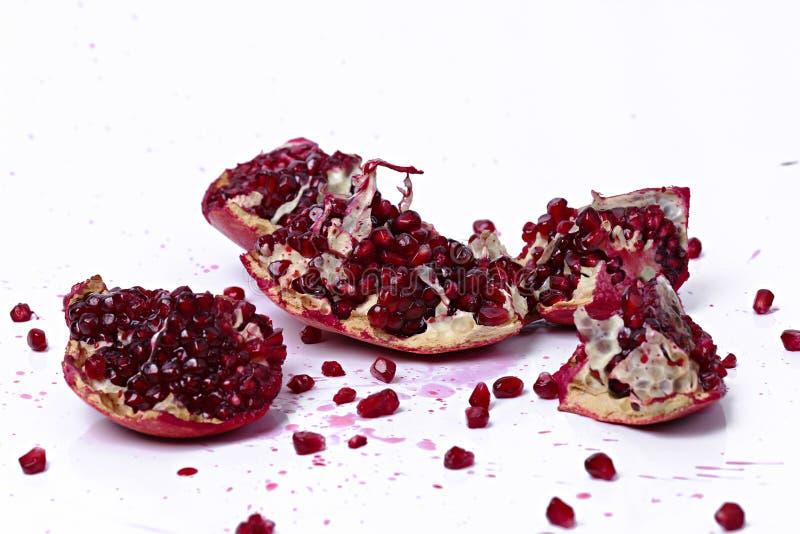 Köstlicher Granatapfel stockfotos