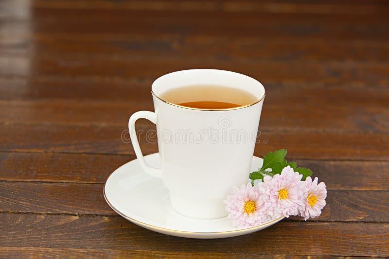 Köstlicher heißer Tee stockfotos