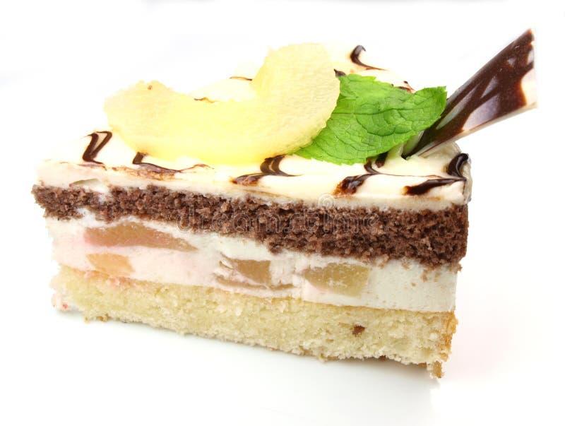 Köstlicher Kuchen stockfotografie