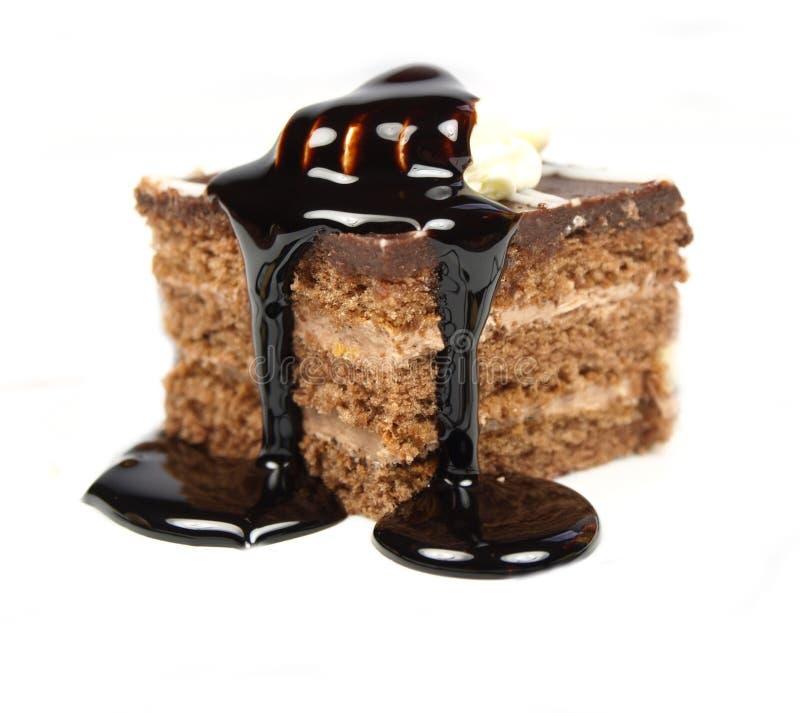 Köstlicher Kuchen stockfoto