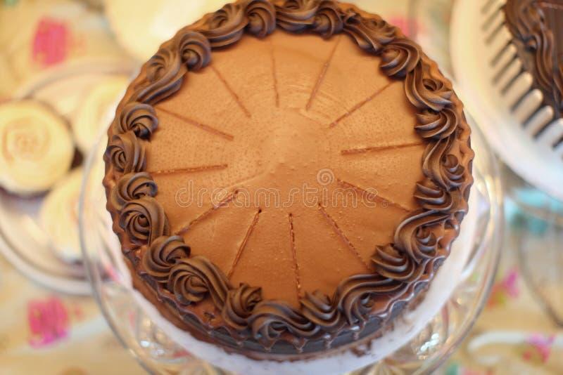 Download Köstlicher Kuchen stockfoto. Bild von innen, nachtisch - 26350894