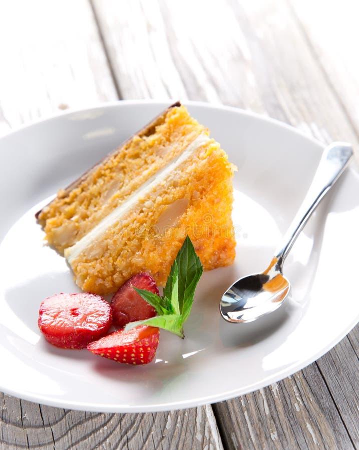 Köstlicher Kuchen lizenzfreie stockfotos