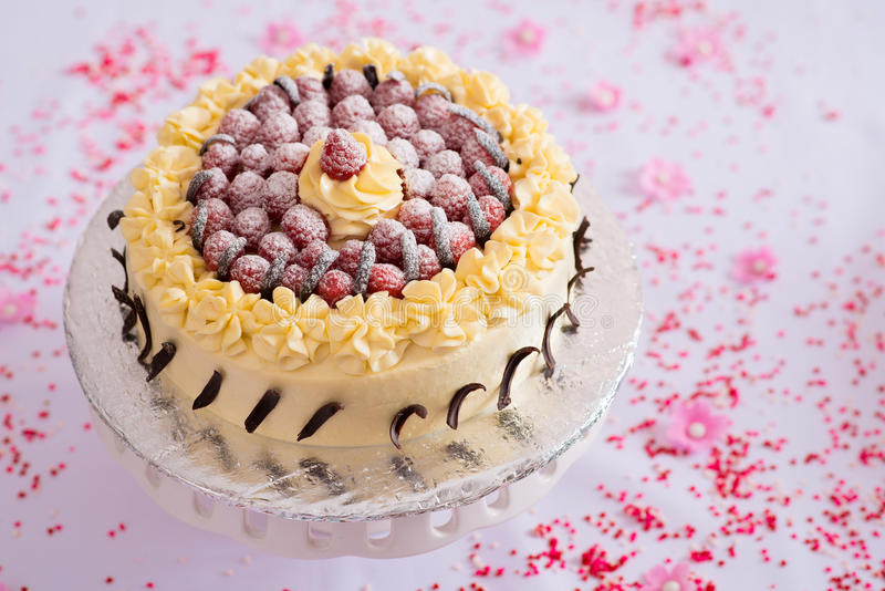 Köstlicher Kuchen lizenzfreie stockbilder