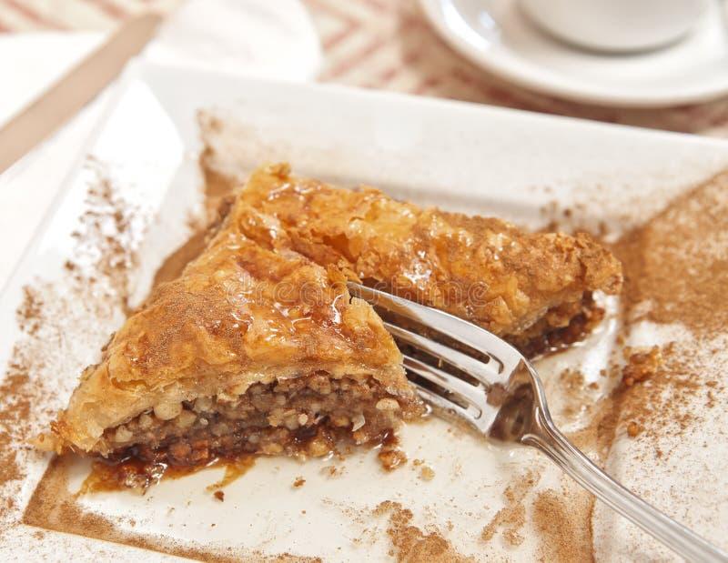 Köstliches Baklava lizenzfreie stockfotografie