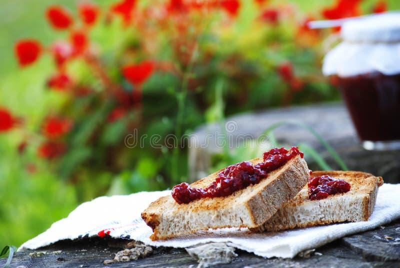 Köstliches Frühstück stockfotografie