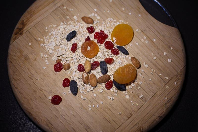 Köstliches und gesundes Frühstück lizenzfreie stockfotos