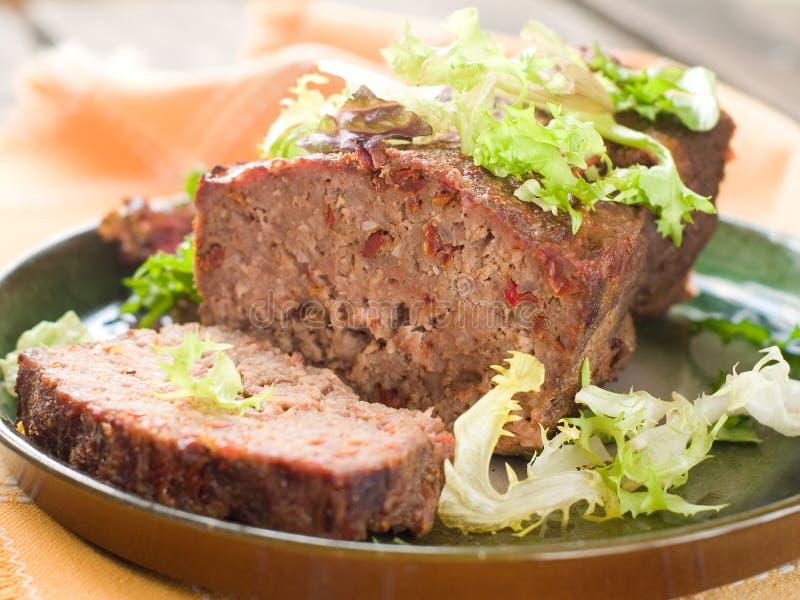 Köttfärslimpa arkivfoton