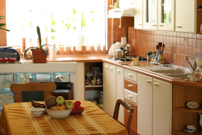 Küche lizenzfreie stockfotografie