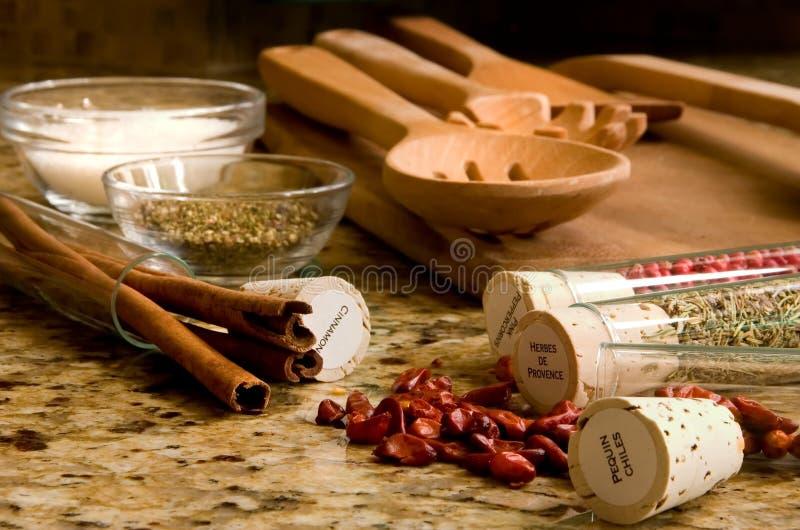Küche-De Provence lizenzfreie stockfotos