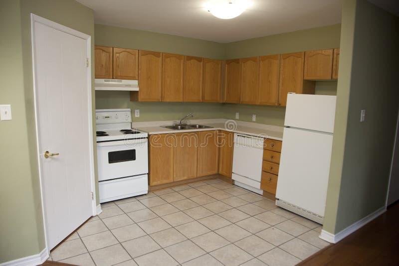 Küche in der Ecke lizenzfreies stockfoto
