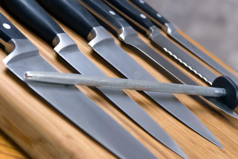 Küche-Messer stockbild