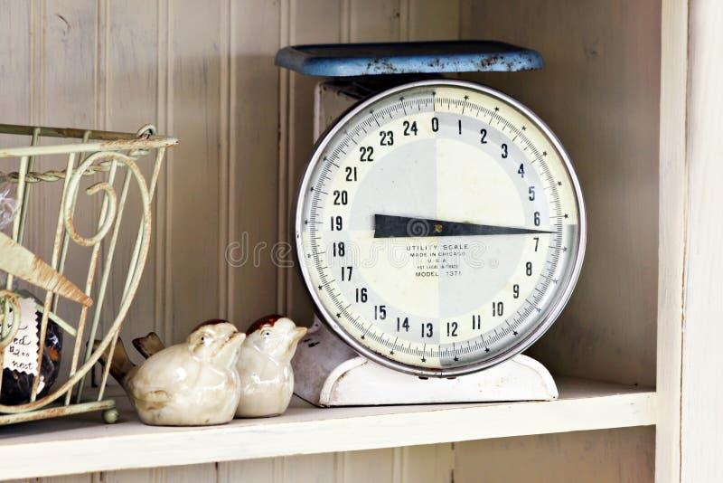 Küche-Skala stockfotografie