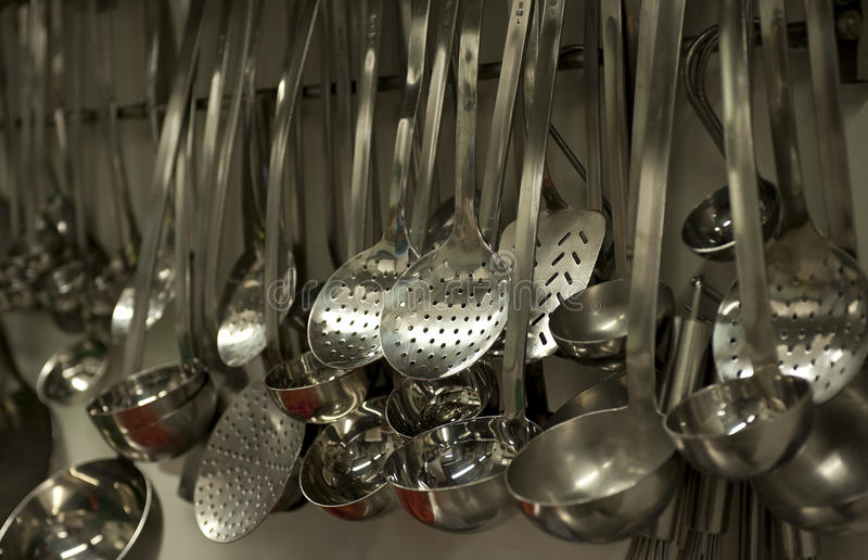 Küchehilfsmittel stockfoto