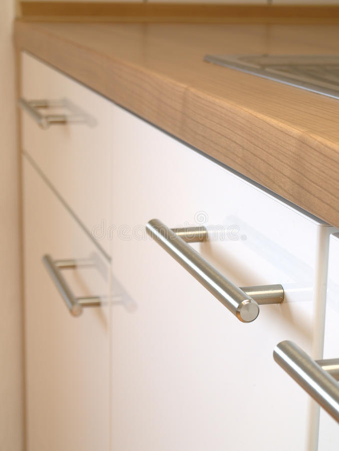 Küchekabinett stockfoto