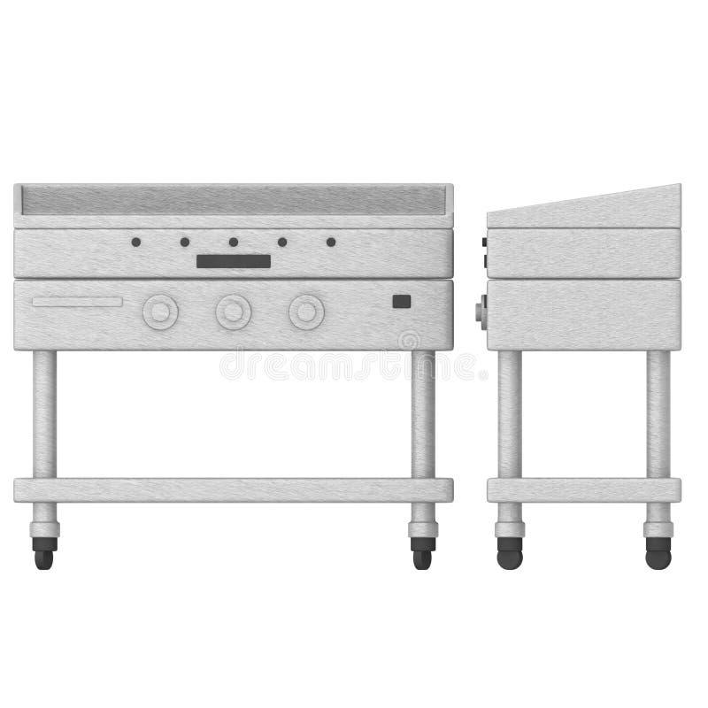 Küchemaschine (Kocher) stock abbildung