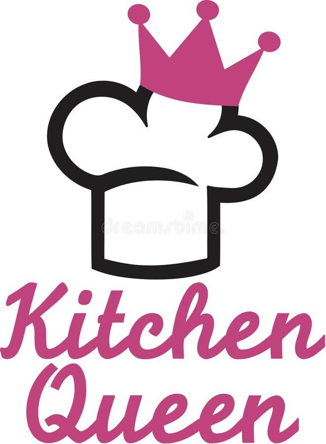 Küchen-Königinvektor stock abbildung