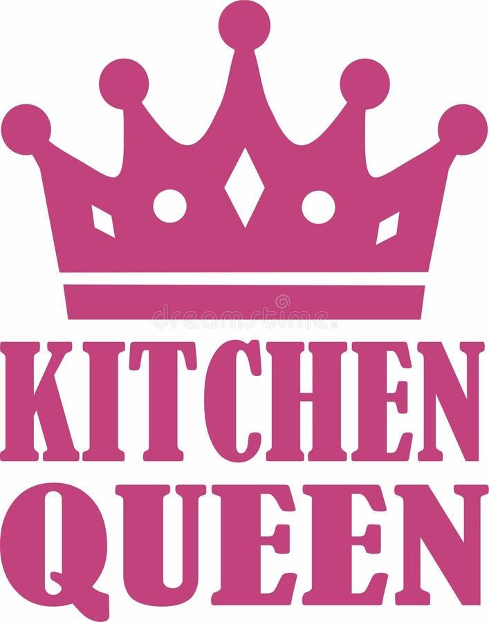 Küchen-Königinvektor lizenzfreie abbildung