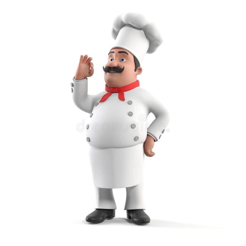 Küchenchef vektor abbildung