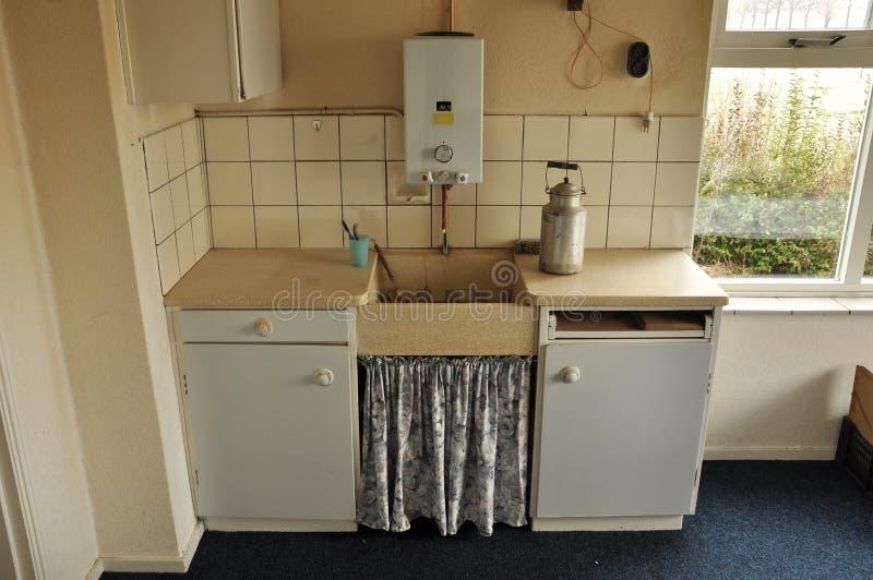 Kücheninnenraum lizenzfreie stockbilder