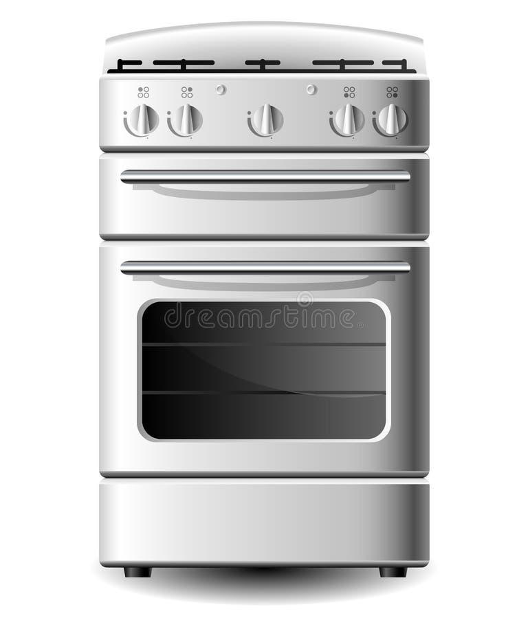 Küchenofen stock abbildung