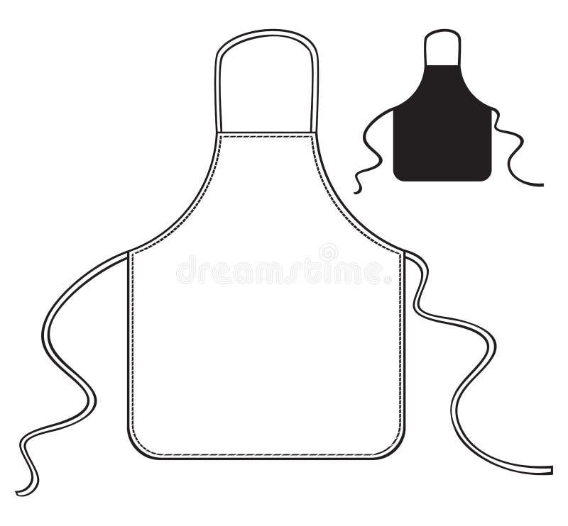 Küchenschutzblech vektor abbildung
