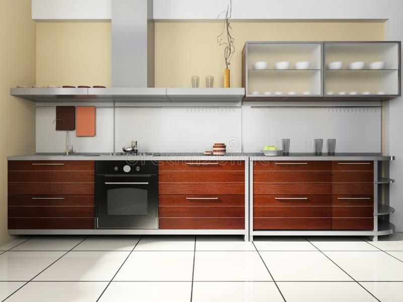 Kücheset vektor abbildung