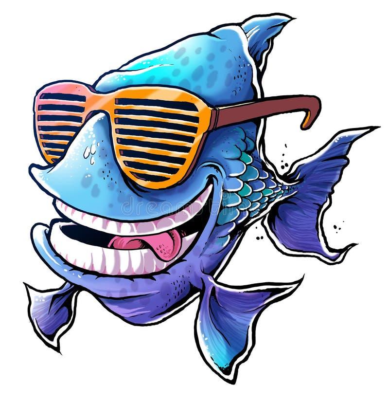 Kühle Fische lizenzfreie stockfotos