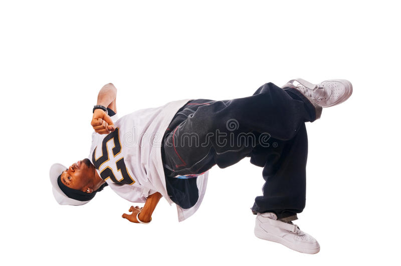 Kühlen Sie Hip-hopjungen Mann ab stockfotos