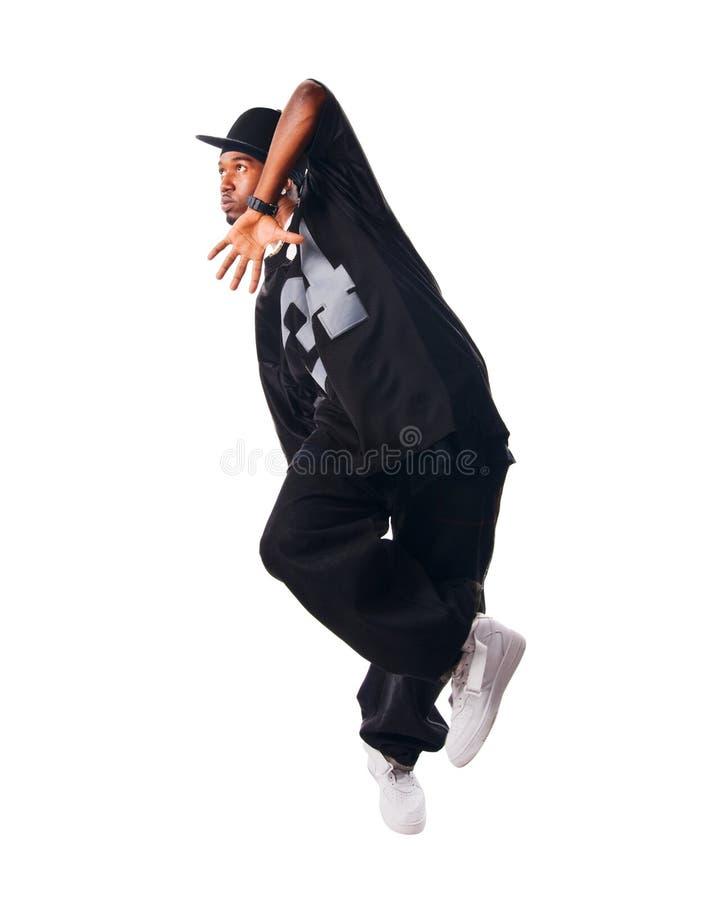 Kühlen Sie Hip-hopjungen Mann ab stockbilder