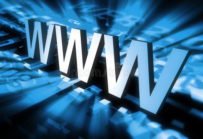 Kühlen Sie WWW ab vektor abbildung