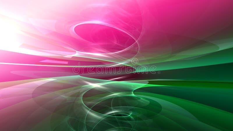 Kühler abstrakter Hintergrund stock abbildung