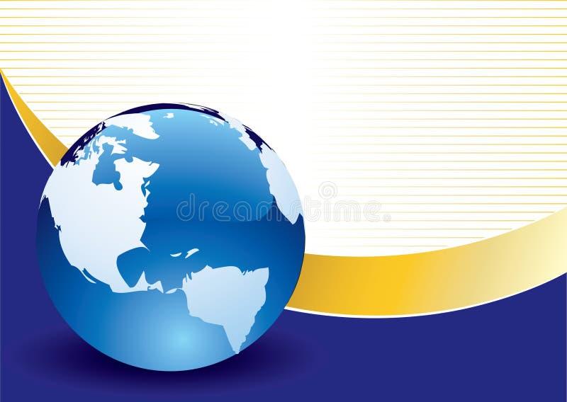 Kühler Hintergrund stock abbildung