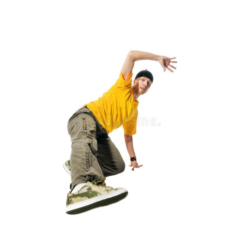 Kühler Hip-hopjunger Mann stockfoto