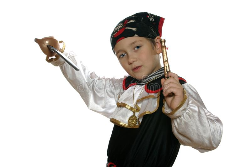 Kühler Pirat stockfotografie