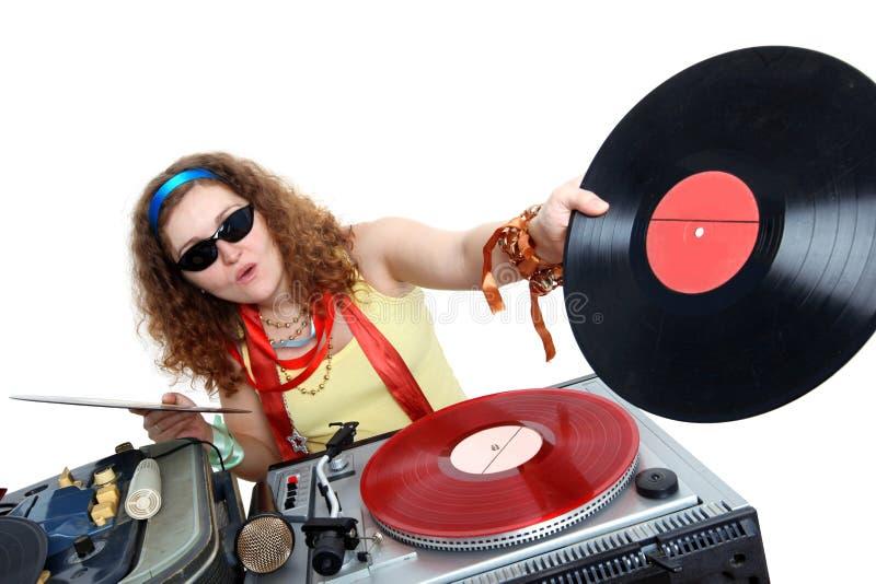 Kühles DJ lizenzfreie stockbilder