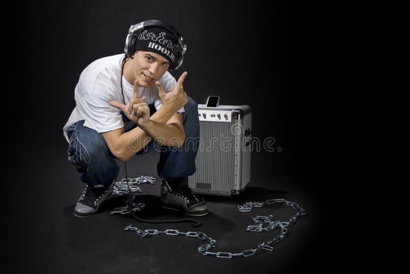 Kühles DJ stockbilder