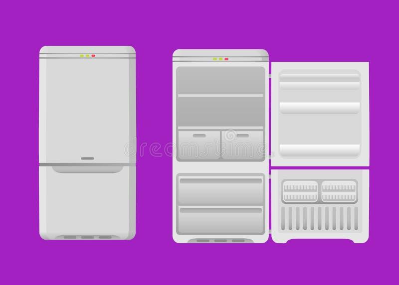 kühlraum stock abbildung