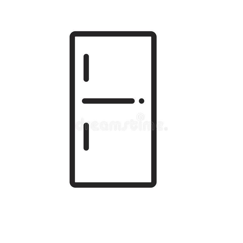 Kühlschrankikone lizenzfreie abbildung