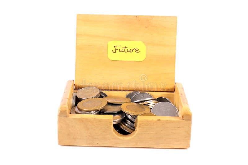 Künftige Einsparungen stockbilder