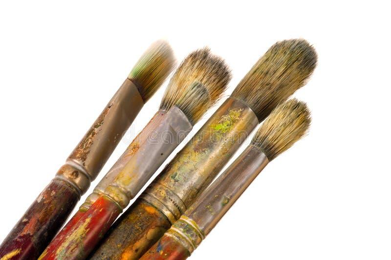 Künstler-Pinsel lizenzfreie stockfotografie