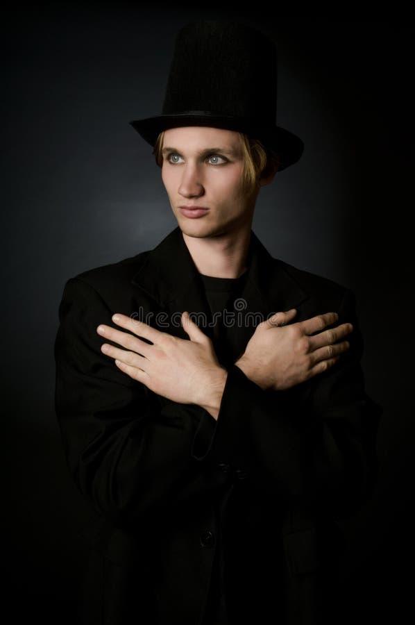 Künstler-Portrait stockfotos
