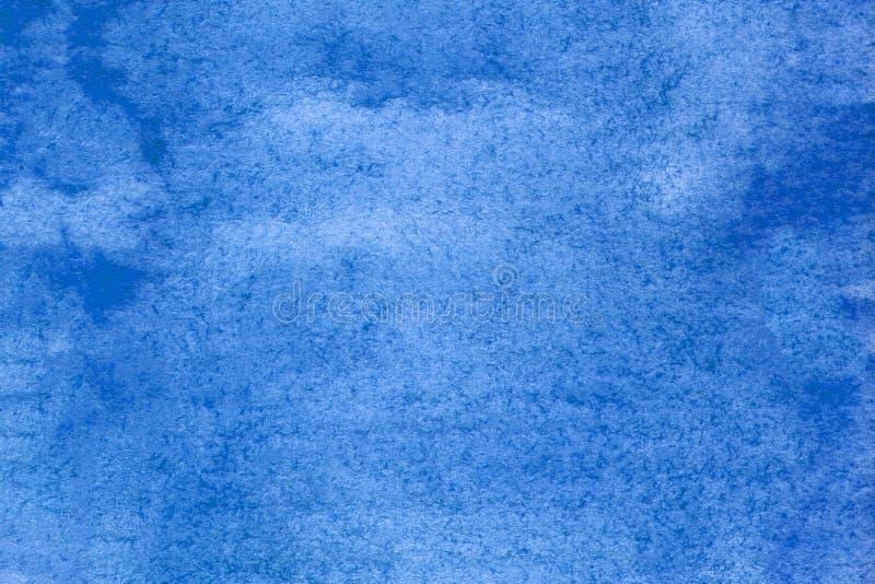 Künstlerblaue Illustration Hintergrundbild erstellen Farbenfrohe, lebendige blaue Textur Zum Dekorieren, Oberflächen stockfoto