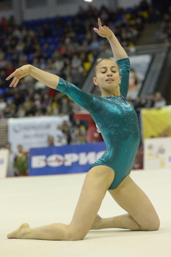 Künstlerische Gymnastik lizenzfreie stockfotografie