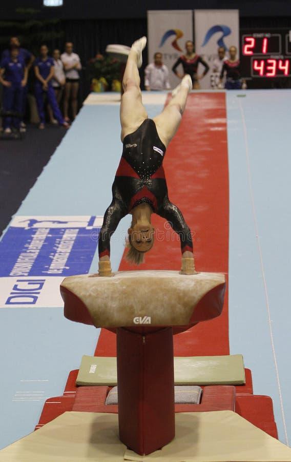 Künstlerische Gymnastik lizenzfreies stockfoto