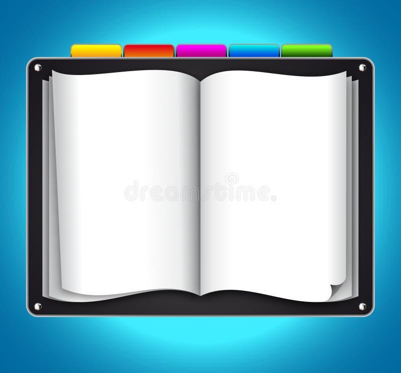 Künstlerische WebDesign Schablone lizenzfreie abbildung