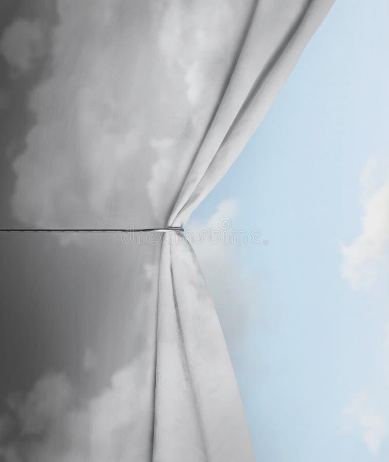 Künstlerischer Himmel stockbild