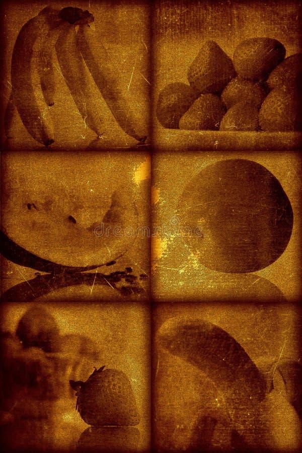 Künstlerischer stilvoller Hintergrund der Weinlese stockfotografie