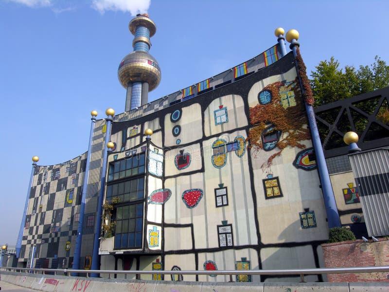 Künstlerisches Gebäude stockbilder